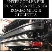 Sono tornati disponibili nel nostro store i fantastici Intercooler per Abarth grande punto, Alfaromeo Mito e Giulietta!!! 🥳🥳🥳🥳  #intercooler #abarth